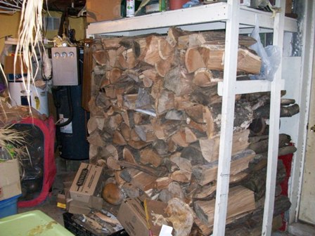 basement wood