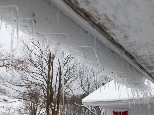 bizarre icicles left view